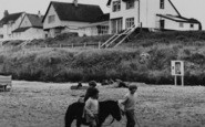 Anderby Creek, Pony Ride On The Beach c.1960