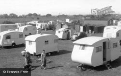 Rose's Caravan Camp c.1955, Anderby Creek