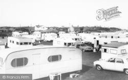Rose's Caravan Site c.1965, Anderby Creek