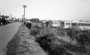 Anderby Creek, Rose's Site And Main Road c.1960