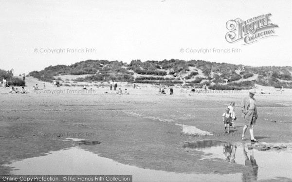 Photo of Anderby Creek, The Beach c.1955