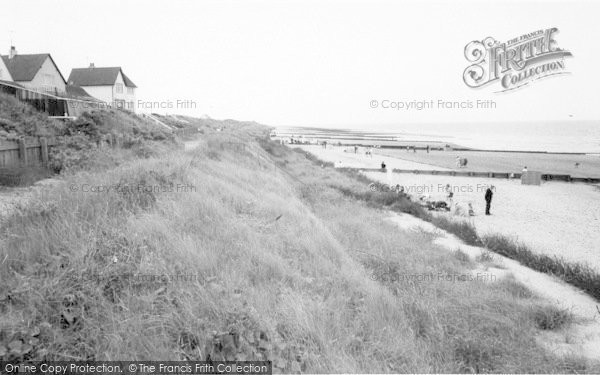 Photo of Anderby Creek, The Beach c.1960