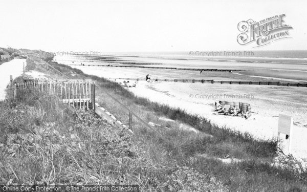 Photo of Anderby Creek, The Beach c.1965