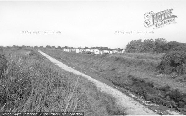 Photo of Anderby Creek, The Creek And Camping Site c.1955