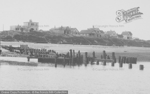 Photo of Anderby Creek, The Creek Mouth c.1955