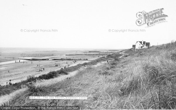 Photo of Anderby Creek, The Seafront c.1960