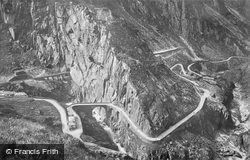 The Devil's Bridge c.1935, Andermatt