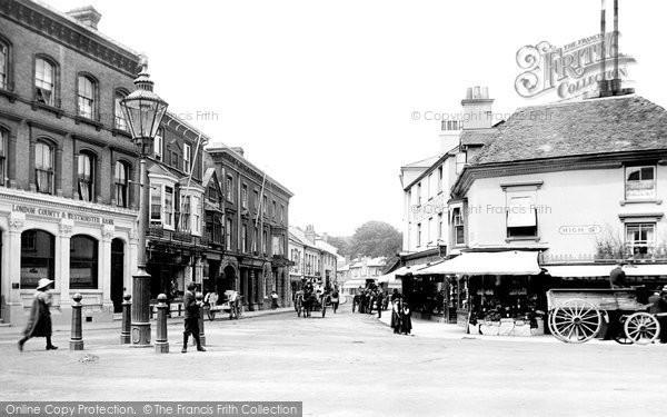 Photo of Andover, Bridge Street 1913