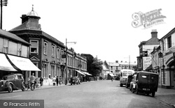 Bridge Street And The Post Office c.1950, Andover