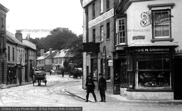 Photo of Andover, Bridge Street Greengrocer 1906