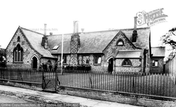 Photo of Andover, British School, New Street 1906