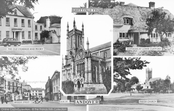 Photo of Andover, Composite c.1960