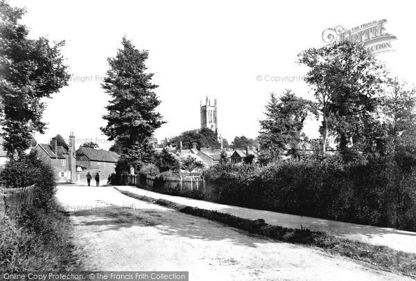 Andover, From North West 1898