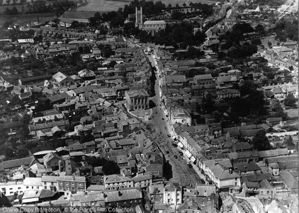 Andover, From The Air 1924