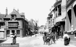 High Street 1908, Andover