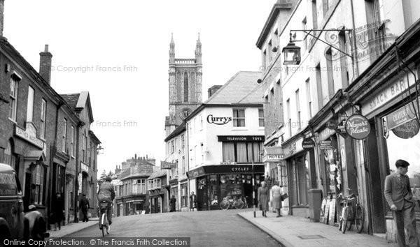 Andover, High Street 1950
