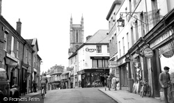 Andover, High Street 1950