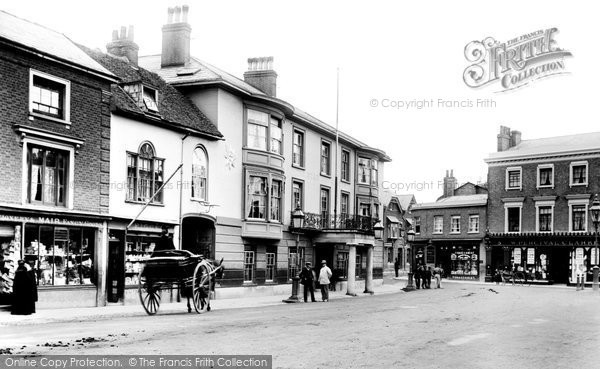 Photo of Andover, High Street And The Star And Garter Hotel 1904