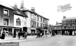 High Street And The Star And Garter Hotel 1904, Andover