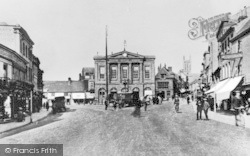 Andover, High Street c.1900