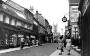 Andover, High Street c.1950