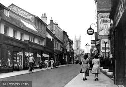 High Street c.1950, Andover