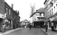 Andover, High Street c.1955