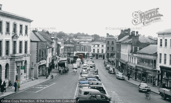 Photo of Andover, High Street c1960