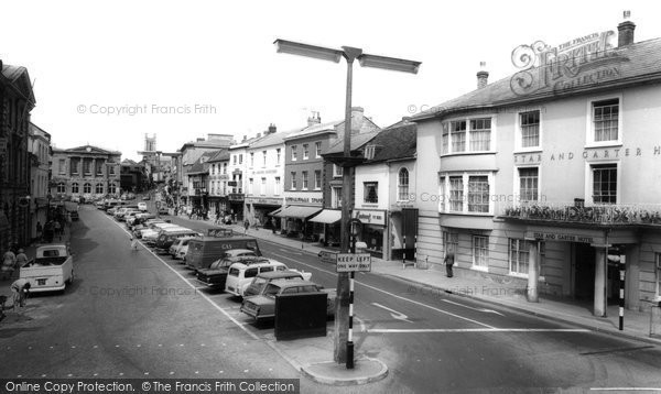 Photo of Andover, High Street c.1965