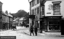 Andover, High Street Greengrocer 1906