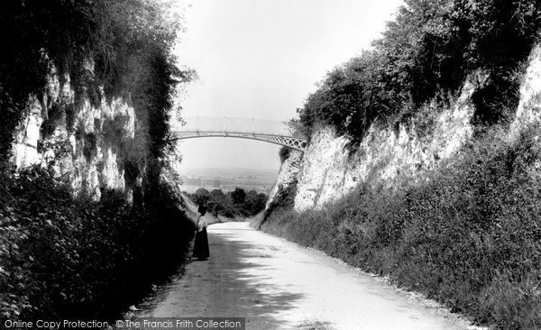 Photo of Andover, Iron Bridge 1908