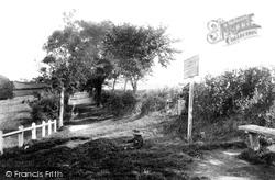 Ladies Walk 1906, Andover