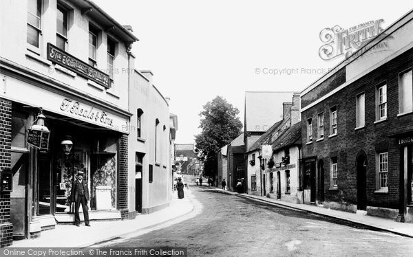 Photo Of Andover London Street 1904 Francis Frith