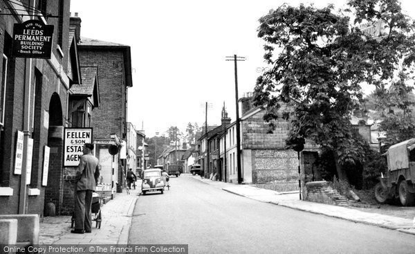 Photo of Andover, London Street c1950