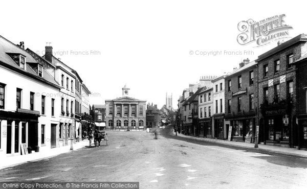 Andover, Market Place 1898