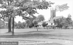 Andover, Parish Church And Recreation Ground c.1950