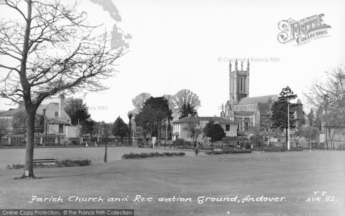 Photo of Andover, Parish Church And Recreation Ground c.1960