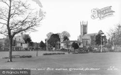 Andover, Parish Church And Recreation Ground c.1960