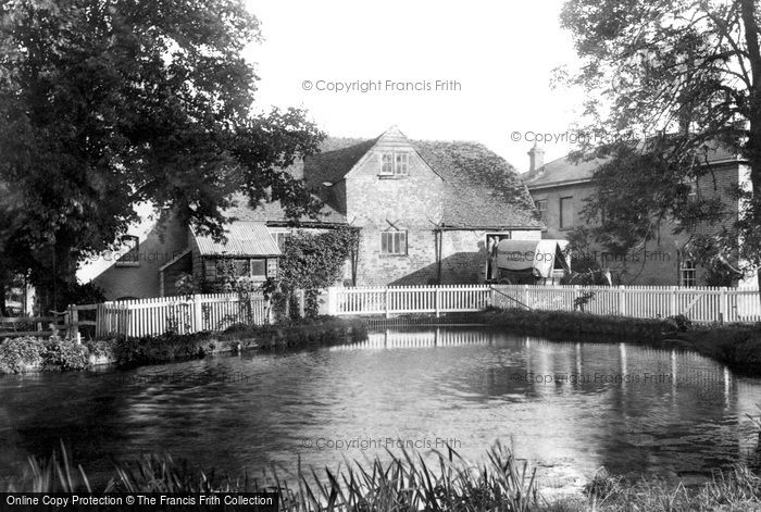 Andover,Rooksbury Mill 1906,Hampshire