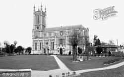 St Mary's Church c.1960, Andover