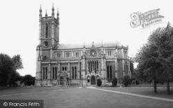 St Mary's Church c.1965, Andover