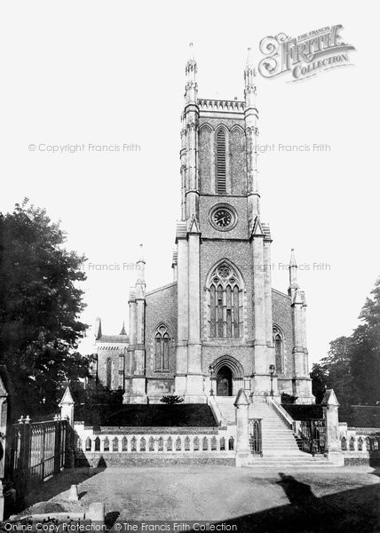Andover, St Mary's Parish Church 1899