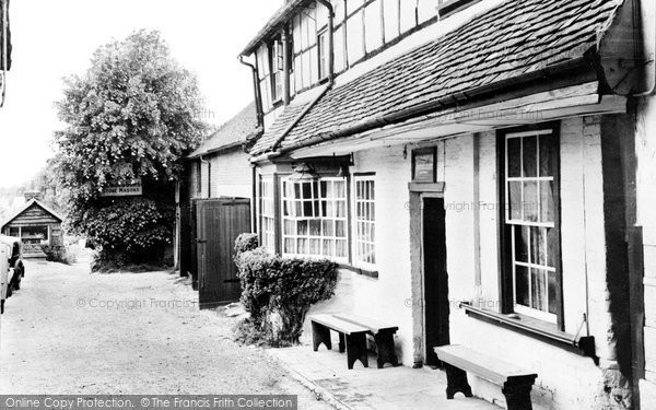 Photo of Andover, The Angel Inn c.1950