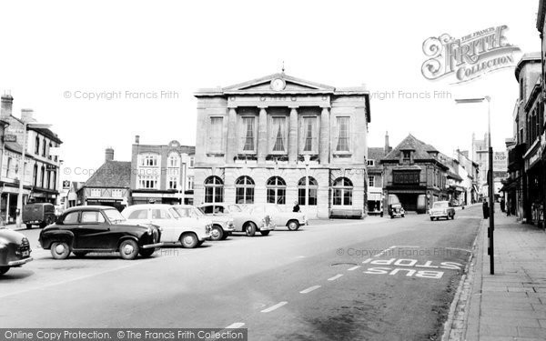 Andover, The Guildhall c.1960