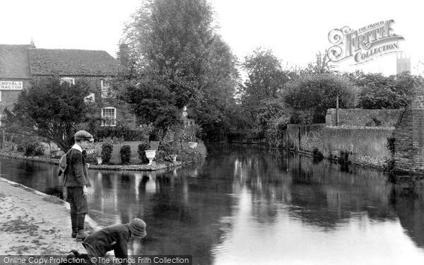 Andover,the Mill 1913,Hampshire