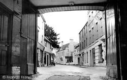 The Newbury Street From The Angel Inn c.1950, Andover