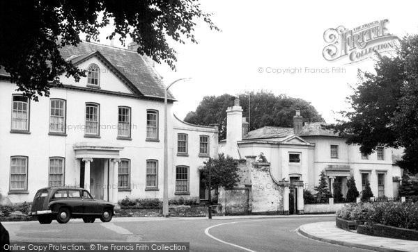 Andover, The Old Vicarage And Priory c.1960
