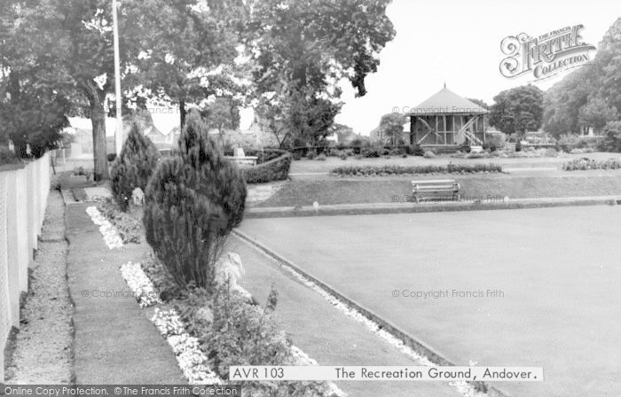Photo of Andover, The Recreation Ground c.1960
