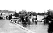 Andover, The Town Mills c.1950