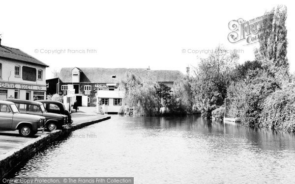 Andover, The Town Mills c.1960
